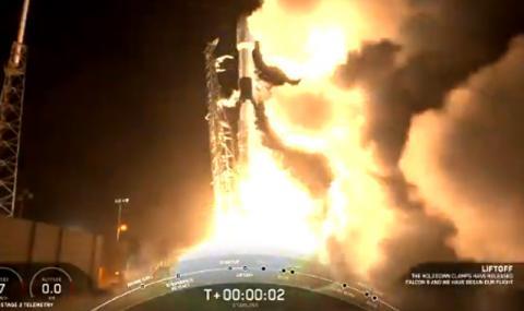 Петият старт на Falcon 9 (ВИДЕО)