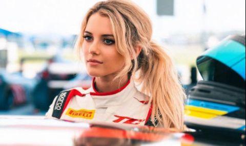 Автомобилна състезателка блести както на пистата, така и в социалните мрежи - 1
