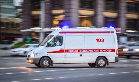 Страшна катастрофа с военна колона в Русия