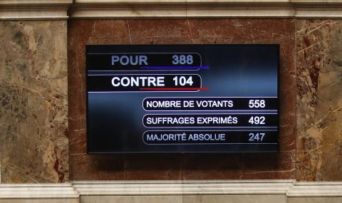 Франция одобри важен закон