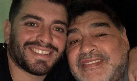 Синът на Марадона е в болница, научил за смъртта за баща си по най-неприятния начин
