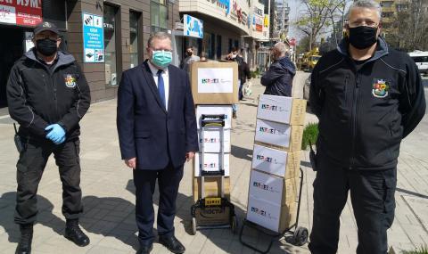 Посолството на Израел направи дарение на София СНИМКИ