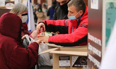 БЧК започва раздаването на пакети с храна на половин милион души - 1