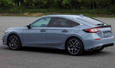 Новата Honda Civic Hatchback дебютира с познат дизайн - 2