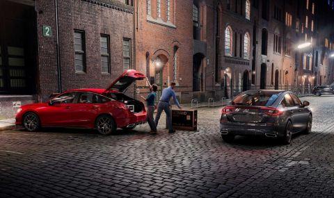Новата Honda Civic Hatchback дебютира с познат дизайн - 3