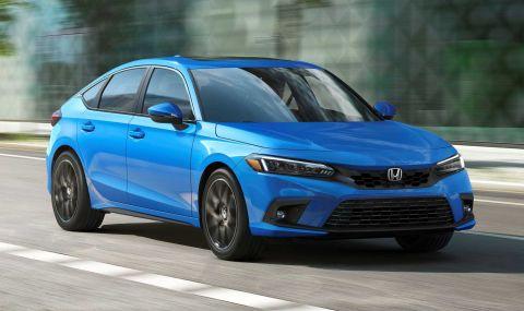 Новата Honda Civic Hatchback дебютира с познат дизайн - 4