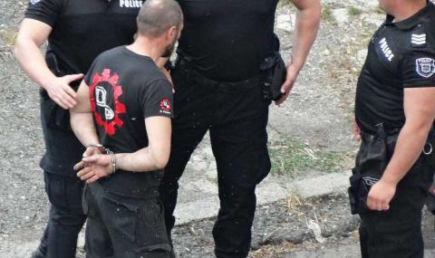 Зрелищен арест в Бургас