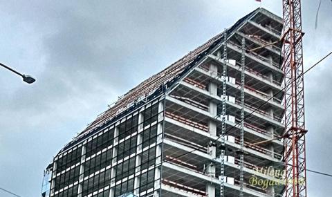 По-малко започнати строежи от началото на 2018-а