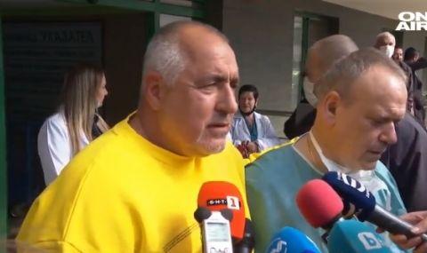 Борисов: До вчера Трифонов беше чалгар, изведнъж ДБ го подкрепя безусловно