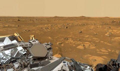 Панорамна гледка от Марс, заснета от марсохода Perseverance (ВИДЕО)