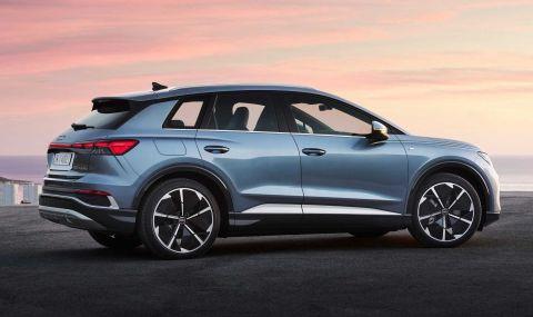 Audi представи електрическото Q4 с различен дизайн и нова платформа - 15
