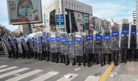 Нов протест в Турция