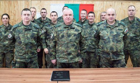 42-ият български контингент започва мисията си в Афганистан