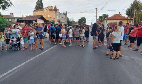 Продължават протестите в Братаница - 1
