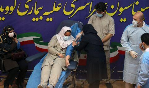 Иран започна ваксинация с руската