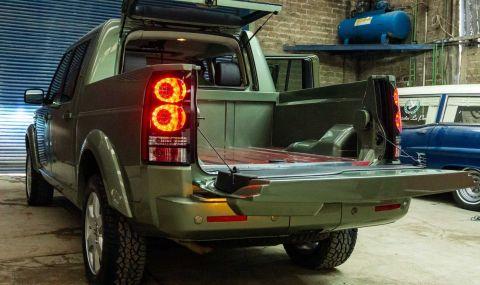 Land Rover Discovery пикап в една единствена бройка - 2