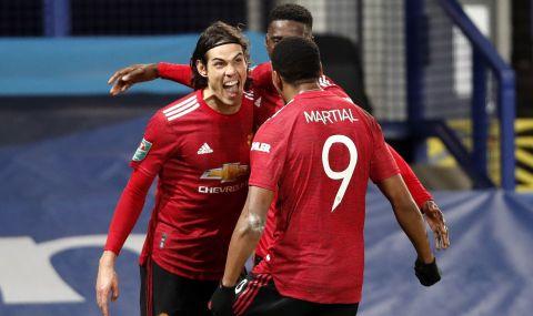 Кавани е решил да остане в Манчестър Юнайтед