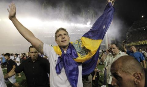 Мартин Палермо сложи край на кариерата си (видео)