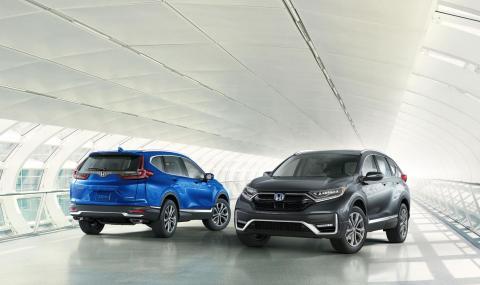 Honda CR-V: Преди и след обновлението