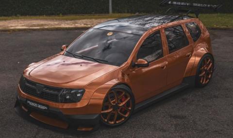 Най-яркият тунинг на Dacia Duster за всички времена