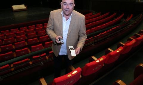 Калин Сърменов: Надявам се и театрите да заработят на закрито