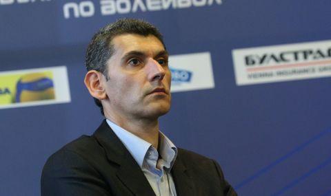 Сашо Попов се завърна във волейболния ЦСКА