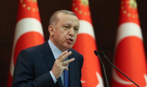 Ердоган: Турция ще издържи два месеца