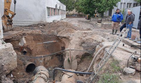 Три ВиК дружества работят съвместно за отстраняване на ВиК аварията в Хасково - 1