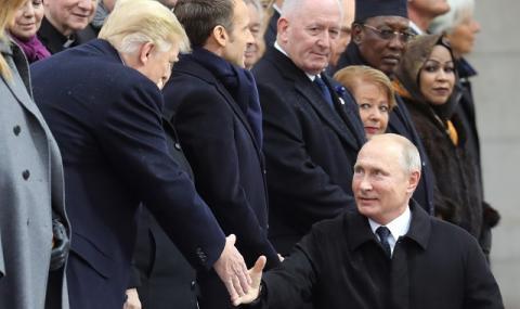 Тръмп и Путин на четири очи?