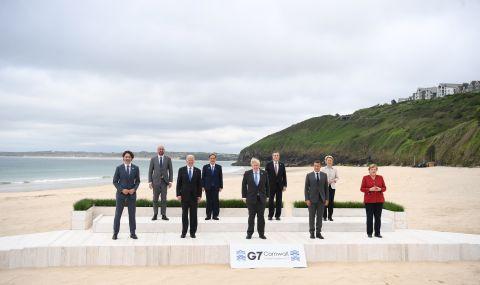 """Лидерите от Г-7 обсъждат """"по-равното"""" възстановяване от пандемията"""