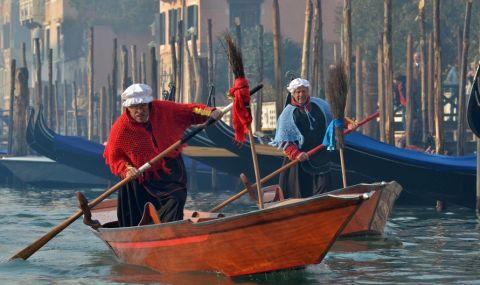 Уникално явление във Венеция