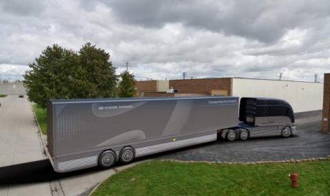 Водороден камион от Mercedes