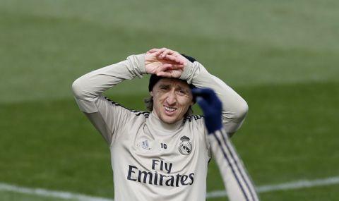 Реал Мадрид преподписва с Модрич, но ще се раздели с Рамос