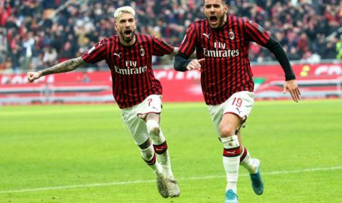 Милан преодоля Удинезе в луд мач