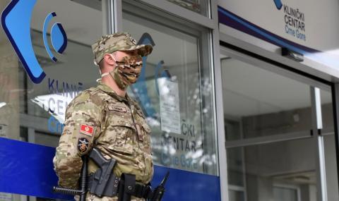 Черна гора въведе комендантски час
