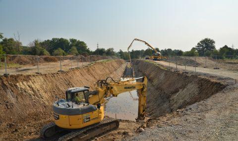 Строят 113 километра канализация в София със 113 млн. лева от Европейския съюз