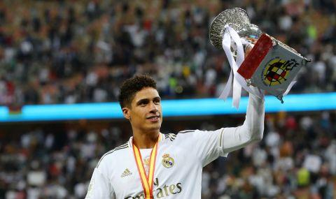 Варан пристигна на базата на Реал Мадрид, но е близо до трансфер в Манчестър Юнайтед - 1