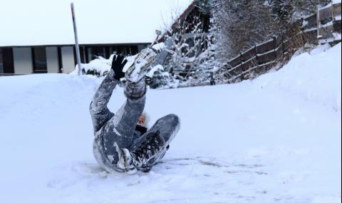 Травми през зимата: Ето кой трябва да внимава най-много