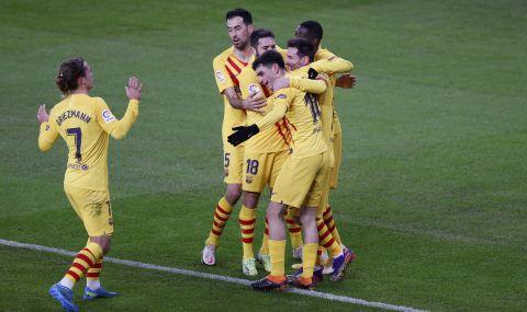 Меси отново герой за Барселона