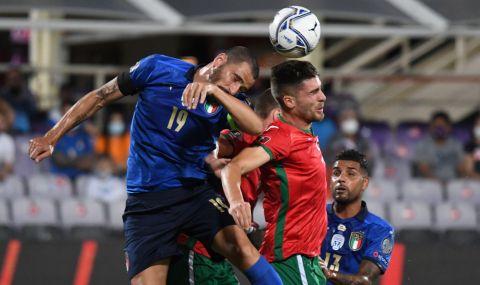 България не се даде на европейския шампион - завършихме наравно срещу Италия - 1