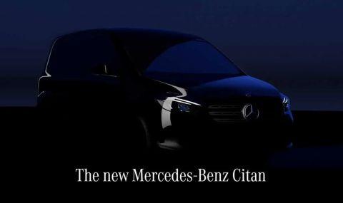 """Mercedes ще представи електрическа """"баничарка"""" на 25 август - 1"""