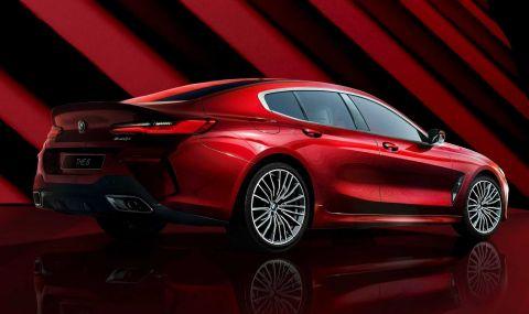 BMW показа колекционерска 8-Series Gran Coupe - 7