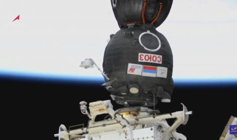 Руски космонавти с поздрав за Нова година