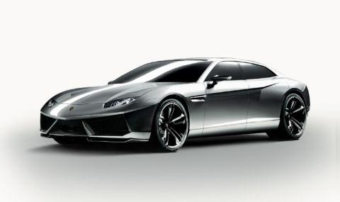Да си спомним за супер седанa на Lamborghini, който така и не стигна до серийно производство - 1