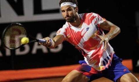 Григор Димитров е аут от турнира в Рим
