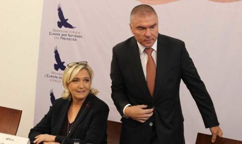 Марин льо Пен зове за нова Европа от София