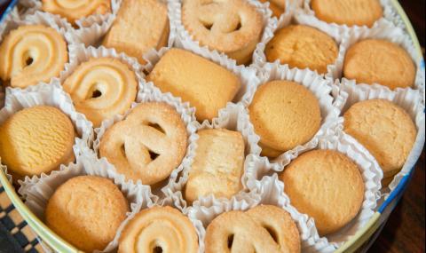 Рецепта на деня: Оригинални датски маслени бисквити