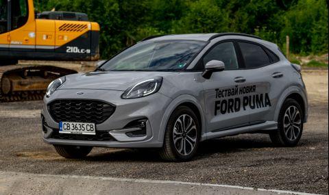 Тествахме Ford Puma. Повдигната Fiesta или нещо повече? - 4