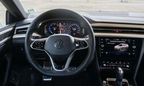 Тествахме VW Arteon Shooting Brake. Може ли едно комби да е стилно и практично? - 17