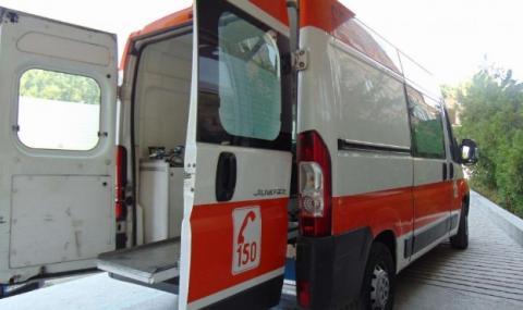 Мъж издъхна пред болница в Сливен